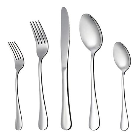cutlery silverware knife fork flatware steel stainless material sets lianyu utensils spoon buying guide pieces polished