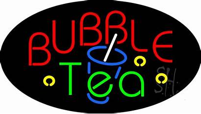 Tea Bubble Sign Neon Signs Animated Everything