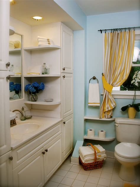 Bathroom Shelving Ideas For Small Spaces by 20 Small Space Storage Ideas