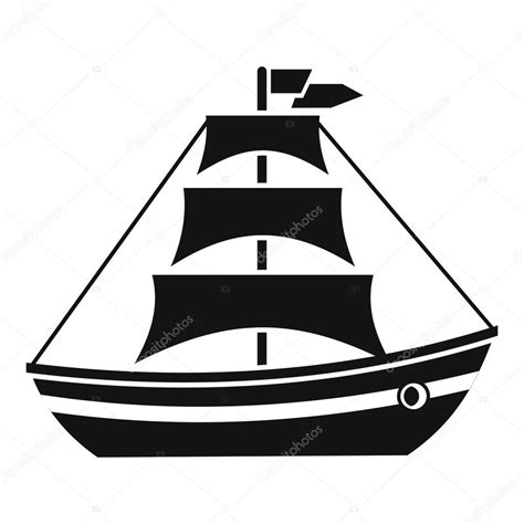 Simple Boat Clipart by Simple Ship Illustration Www Pixshark Images