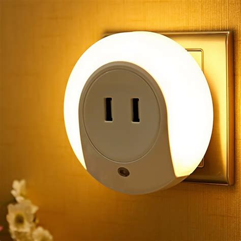 usb light bulb socket mini usb socket led night light for children 7 led usb
