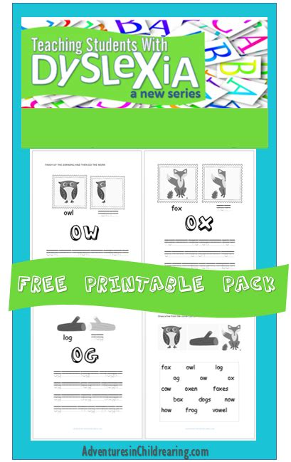 brand new free dyslexia worksheet pack overcoming 308 | 998fea653f50c9756d2bfbd8aabf37d5