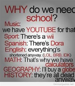 free funny school quote