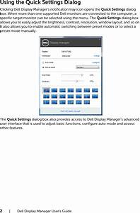 Dell U2718q Monitor Display Manager User U2019s Guide User