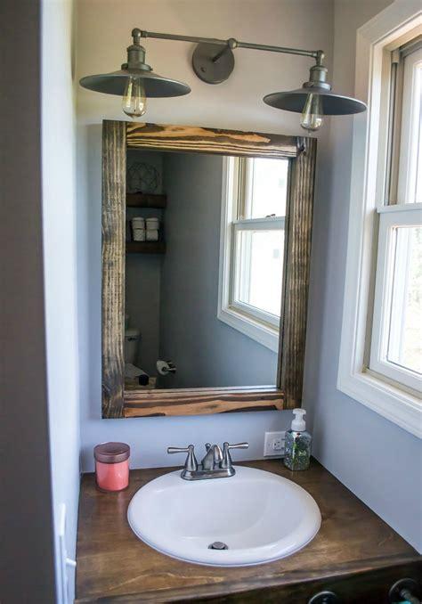rustic bathroom lighting canada