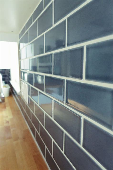 tiles navy blue subway tile and the hydrorail shower nautical kitchen backsplash installation gallery