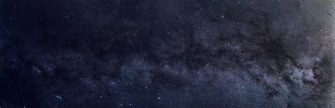 A 9 Panel Panoramic Of The Milky Way At 100mm Space