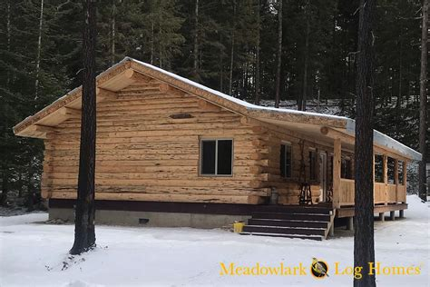 meadowlark rancher log homestead meadowlark log homes