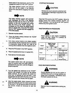Page 15 Of Cub Cadet Lawn Mower 1864 User Guide