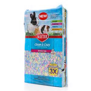 kaytee clean cozy birthday cake small pet bedding
