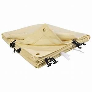 toile de rechange beige pour auvent ou tonnelle 4 m x 3 m With toile pour terrasse exterieur 12 tonnelle adossee beige 4x3 m pas cher