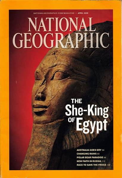 Magazine Covers Geographic National 2009 Egypt April