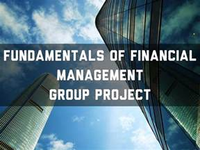 fundamentals  financial management group project