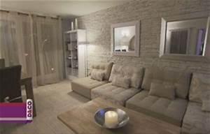 decoration salon mur pierre With deco salon mur pierre