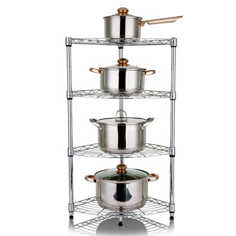 free shpping 4 layers stainless free shpping 4 layers stainless steel kitchen shelf