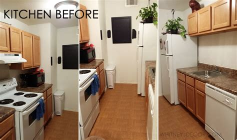 how to update a galley kitchen decor of small galley apartment kitchen before 8936