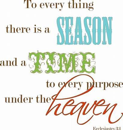 Season Bible Every Ecclesiastes There Christian Everything