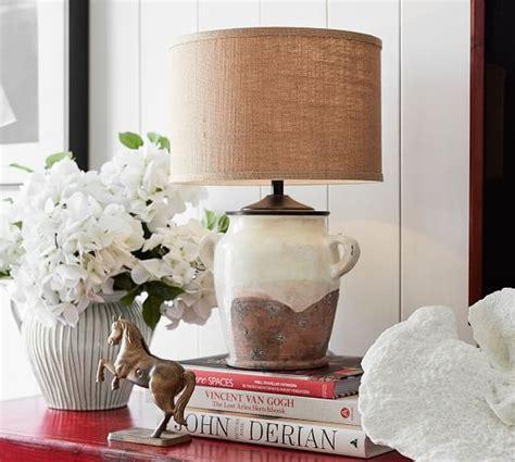 Saratoga Bedside Lamp Base   Pottery Barn