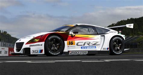 japanese race cars honda to race cr z hybrid in japan s super gt series
