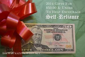 2014 Gifts For  50  U0026 Under To Help Encourage Self