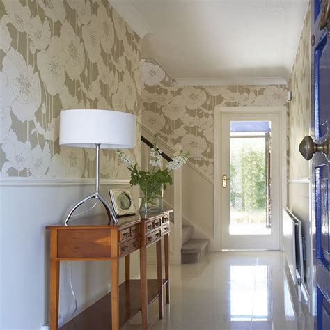 traditional small bathroom ideas 25 gorgeous entryways clad in wallpaper
