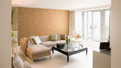 Decorative cork wall tiles HAWAI WHITE 3x300x600mm