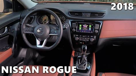 nissan rogue interior  space features