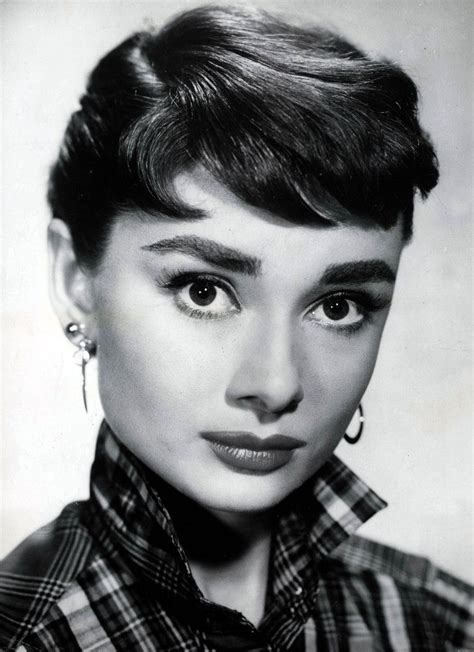 Actresses With Hair by Best Hepburn Hairstyles Ideas Secret Of