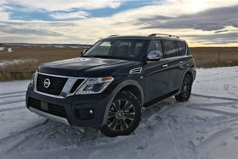 2017 nissan armada platinum 2017 nissan armada platinum road test review by tim