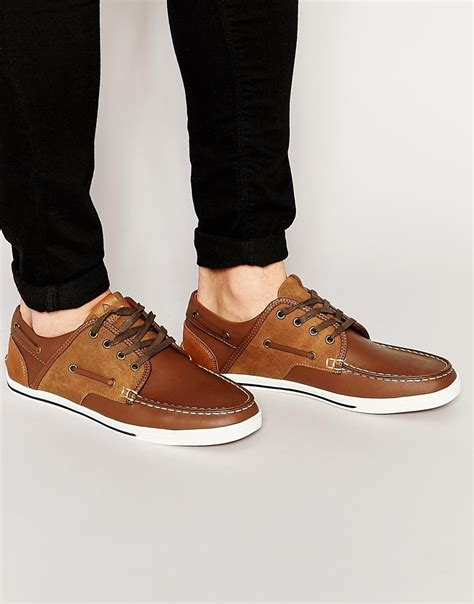 Boat Shoes Aldo by Lyst Aldo Greeney Boat Shoe In Brown For