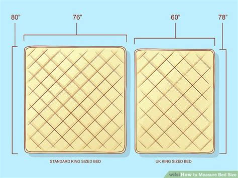 what is a california king bed vs a king bed how to measure bed size 10 steps with pictures wikihow