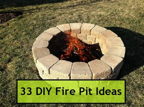 33 Diy Fire Pit Ideas Kitchen Wall Cabinet Design Restaurant Software Freedom Interior Designing Kitchens Ideas Very Small Designs Pictures Layout Amazing