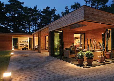 les 25 meilleures id 233 es de la cat 233 gorie maison en bois sur maisons 224 ossature bois
