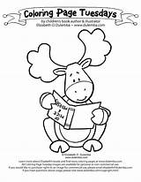 Moose Coloring Pages Muffin Funny Cartoon Cute Christmas Baby Thidwick Head Drawing Hearted Give Moosie Colouring Template Operation Child Nate sketch template