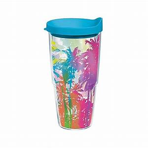 Tervis Neon Palm Trees Wrap Drinkware Collection