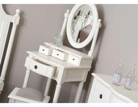 coiffeuse de chambre meuble coiffeuse blanche directoire pour chambre