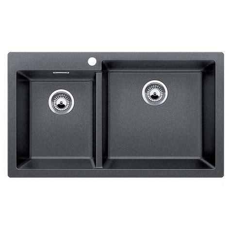 Blanco: Pleon 9 Anthracite Silgranit Sink   Kitchen Sinks