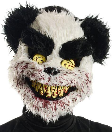 charles horror panda bear mask  halloween  seasons