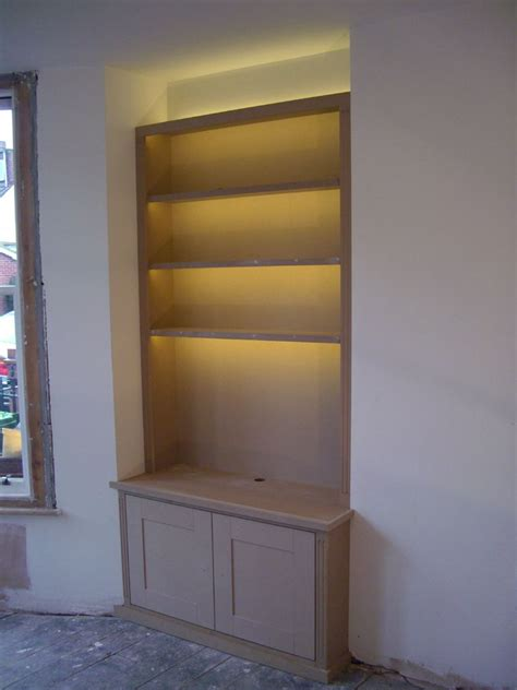 Bookcase Led Lighting by Fitted Wardrobes Bookcases Shelving Floating Shelves