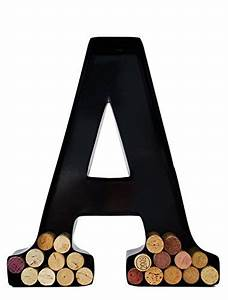 wine cork holders metal monogram letters jongo With what kind of paint to use on kitchen cabinets for wine cork holder wall art