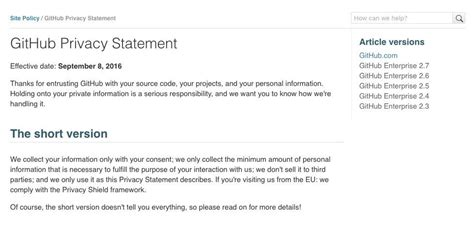 Generic Privacy Policy Template by Generic Privacy Policy Template Pattern Exle