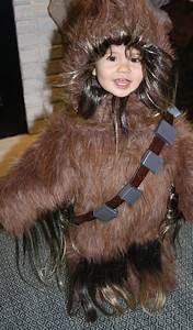 Handmade Toddler Chewbacca Costume