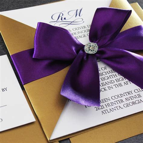 plum wedding invitations gold and plum wedding invitation weddinginvitations i http eventsbyclassic color story