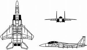 File F-15 Eagle Drawing Svg