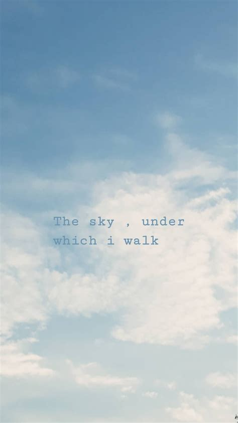 sky clouds aesthetic wallpaper quotes blue sky quotes
