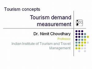 04 Tourism Demand Measurment
