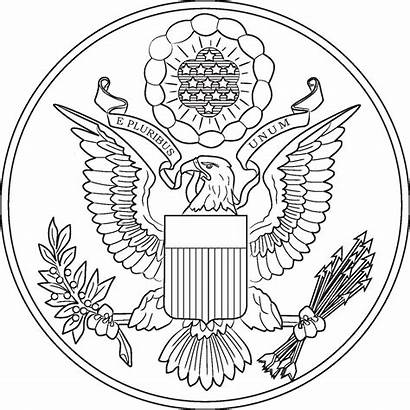 Coloring Seal Pages Washington States Dc United