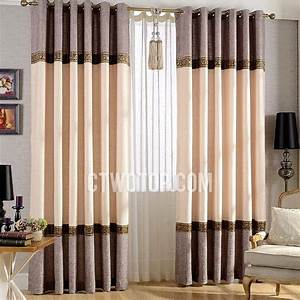 Elegant living room curtains pertaining to your property for Drapes for living room windows