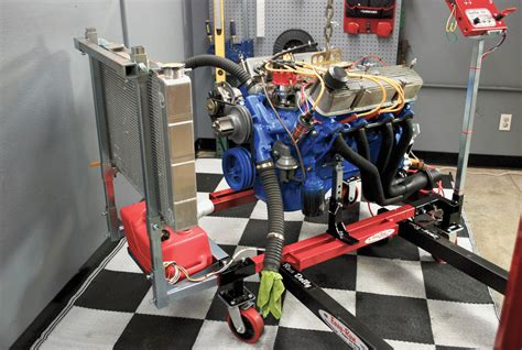 easy run engine test run stand reincarnation magazine