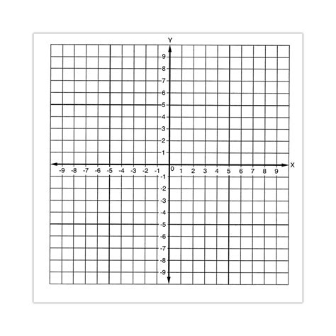 graph paper stickers number axis numbered